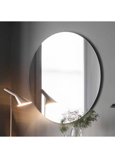 Chic Life Chic Life Altair Dekoratif Oval - Yuvarlak Ayna 80 Cm X 80 Cm Renkli